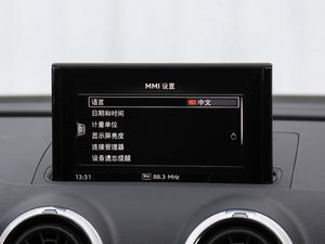 2018款30周年版 Limousine 35 TFSI风尚型 中控台显示屏