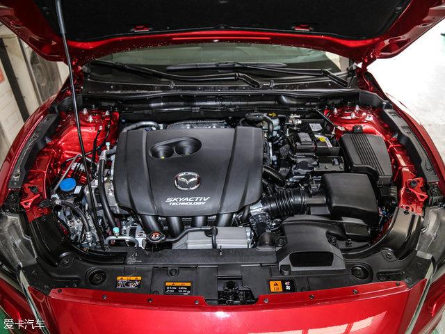 """阿特兹所搭载的具有""""创驰蓝天""""技术的2.5L发动机最大功率为141kW(192Ps),最大扭矩为252Nm。"""