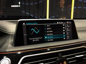 2019款M760 xDrive 中控区