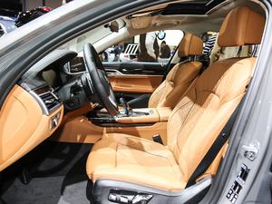 2019款750Li xDrive 前排座椅