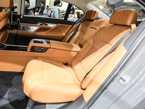 2019款750Li xDrive 后排座椅
