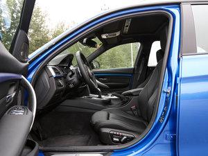 2017款340i xDrive M运动型 前排空间