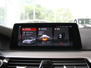 2017款525i M运动套装 中控台显示屏