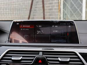 2018款730Li 尊享型 M运动套装 中控台显示屏
