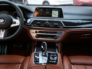 2018款M760Li xDrive 中控台