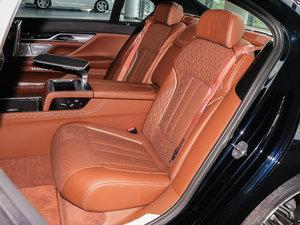 2018款M760Li xDrive 卓越奢华版 后排座椅