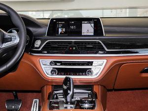 2018款M760Li xDrive 卓越奢华版 中控台