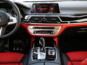 2018款740Li xDrive 尊享型 M运动套装 黑焰版 中控台