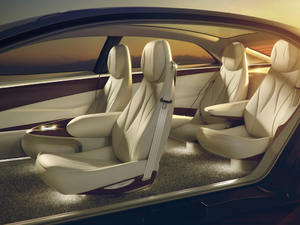 2018款概念车 空间座椅