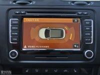 中控区Golf GTI敞篷中控台显示屏