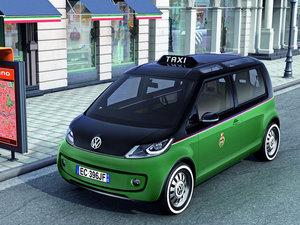 2010款出租车 整体外观