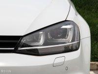 细节外观Golf旅行轿车头灯