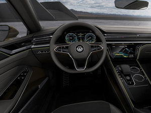 2015款GTE Concept 中控区