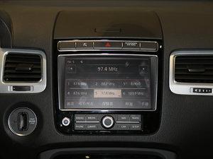 2017款3.0 TSI 远征版 中控台显示屏