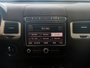 2017款15周年纪念版 R-Line 中控台显示屏