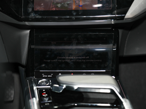 2019款e-tron 55 quattro时尚型 中控台显示屏