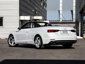 2019款Cabriolet 40 TFSI 时尚型 后侧45度