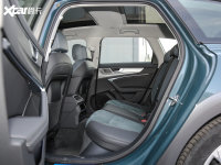 空間座椅奧迪A6 allroad后排空間