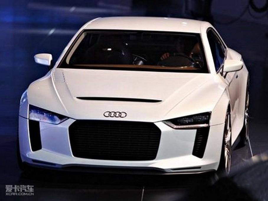 r4雏形 奥迪巴黎车展发布quattro概念车