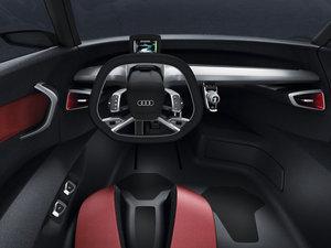 2011款Spyder Concept 中控区