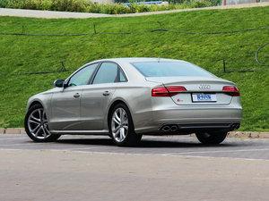 2015款4.0 TFSI quattro 后侧45度