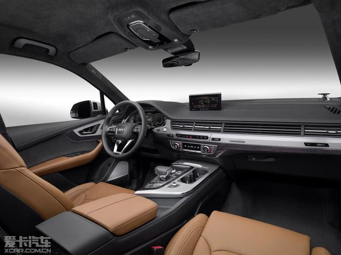 2015款奥迪q7混合动力中控区图片 2015款奥迪q7混合动力高清图片