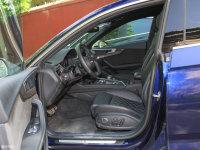 空间座椅奥迪S5掀背前排空间