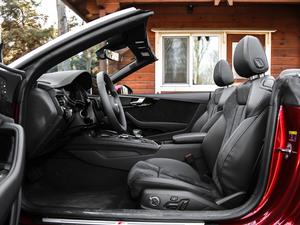 2017款Cabriolet 40 TFSI 时尚型 前排空间