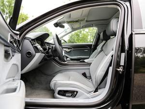 2018款55TFSI quattro 尊贵型 前排空间