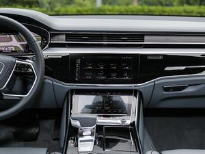 2018款55TFSI quattro 尊贵型 中控台