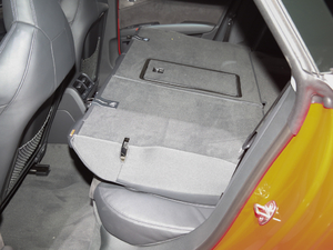 2018款Sportback 4.0 TFSI quattro 空间座椅