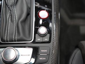 2018款Sportback 4.0 TFSI quattro 中控区