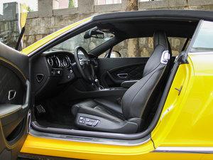 2014款4.0T GT V8 S 敞篷标准版 前排空间
