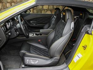 2014款4.0T GT V8 S 敞篷标准版 前排座椅