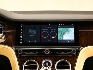 2018款6.0T GT W12 中控台显示屏