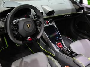 2019款EVO Spyder 中控台