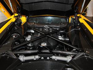 2017款Aventador S 发动机