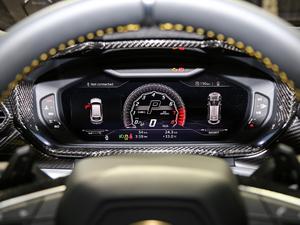 2018款4.0T V8 仪表