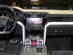 2018款4.0T V8 中控台