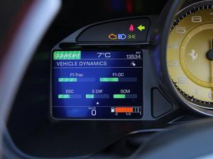 2018款3.9T V8 中控区
