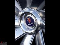 细节外观萨博9X轮胎