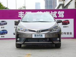 一汽丰田2017款卡罗拉