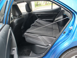 2017款1.2T CVT GLX-i 后排座椅放倒
