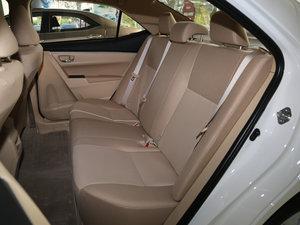 2017款1.6L CVT GL 后排座椅