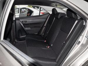 2017款全新 1.2T CVT GL 后排座椅
