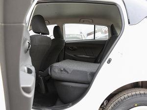 2017款1.5L CVT锋驰版 后排座椅放倒