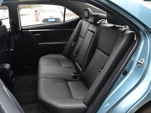 2017款1.8L E-CVT豪华版 后排座椅