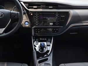 2017款1.8L E-CVT豪华版 中控台