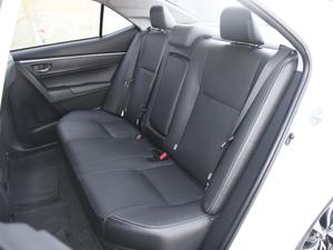 2017款1.8L E-CVT旗舰版 后排座椅