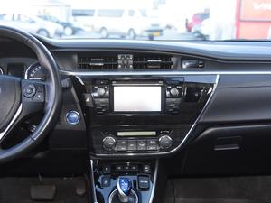 2017款1.8L E-CVT旗舰版 中控台